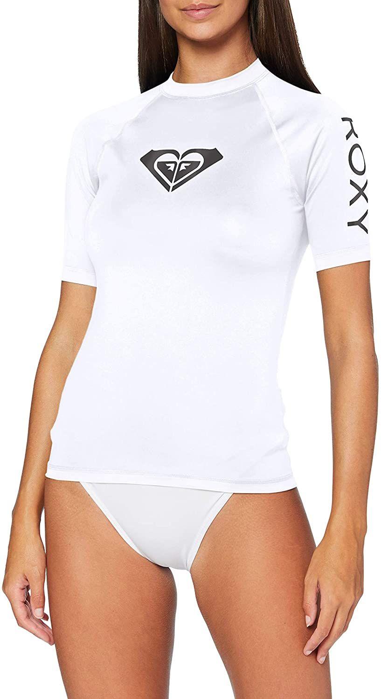 Roxy Camiseta Manga Corta Protección Solar UPF 50 Mujer T-L