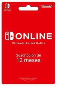Nintendo Switch 12 Meses