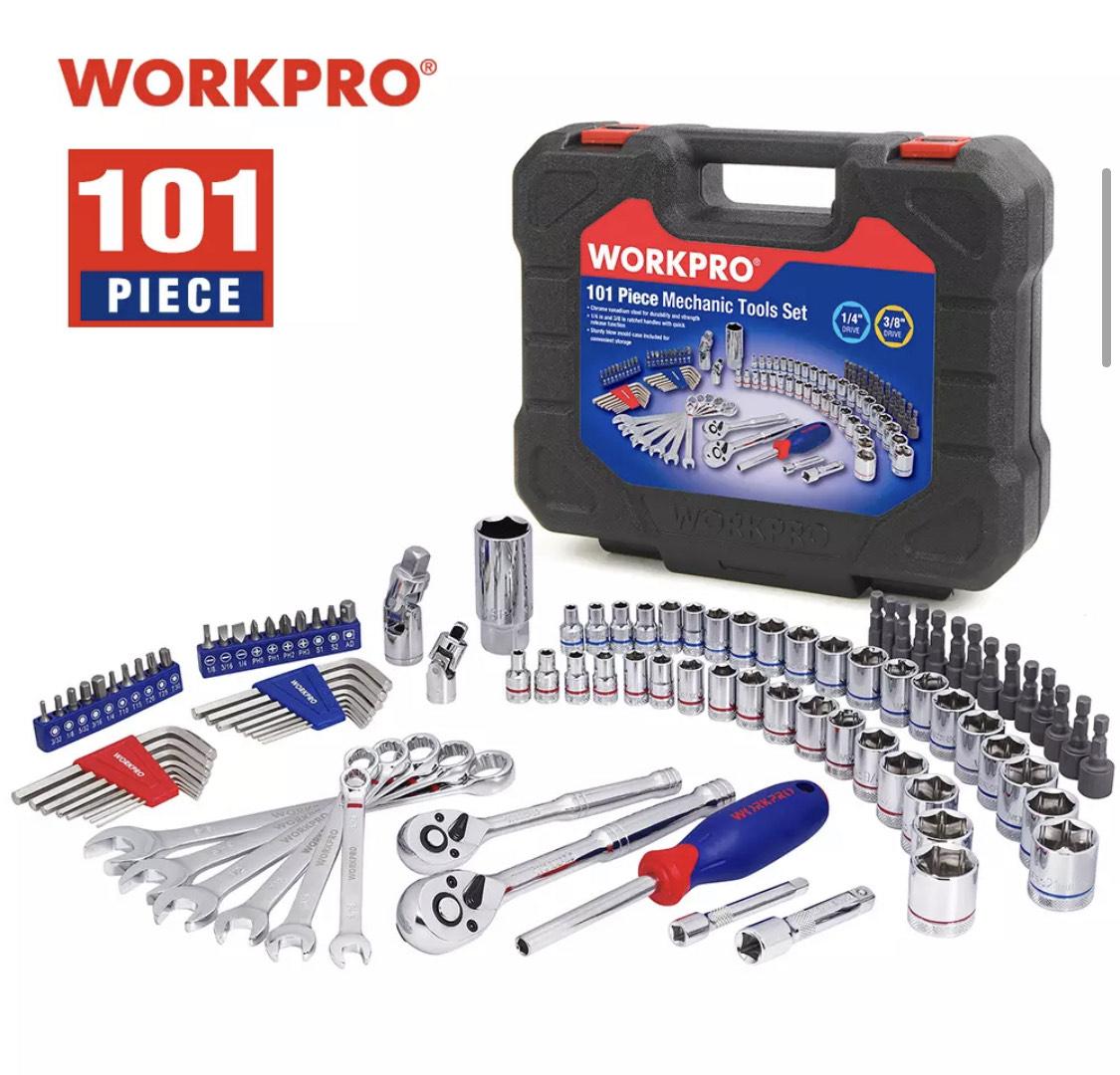 WORKPRO - Juego de herramientas - 101 piezas