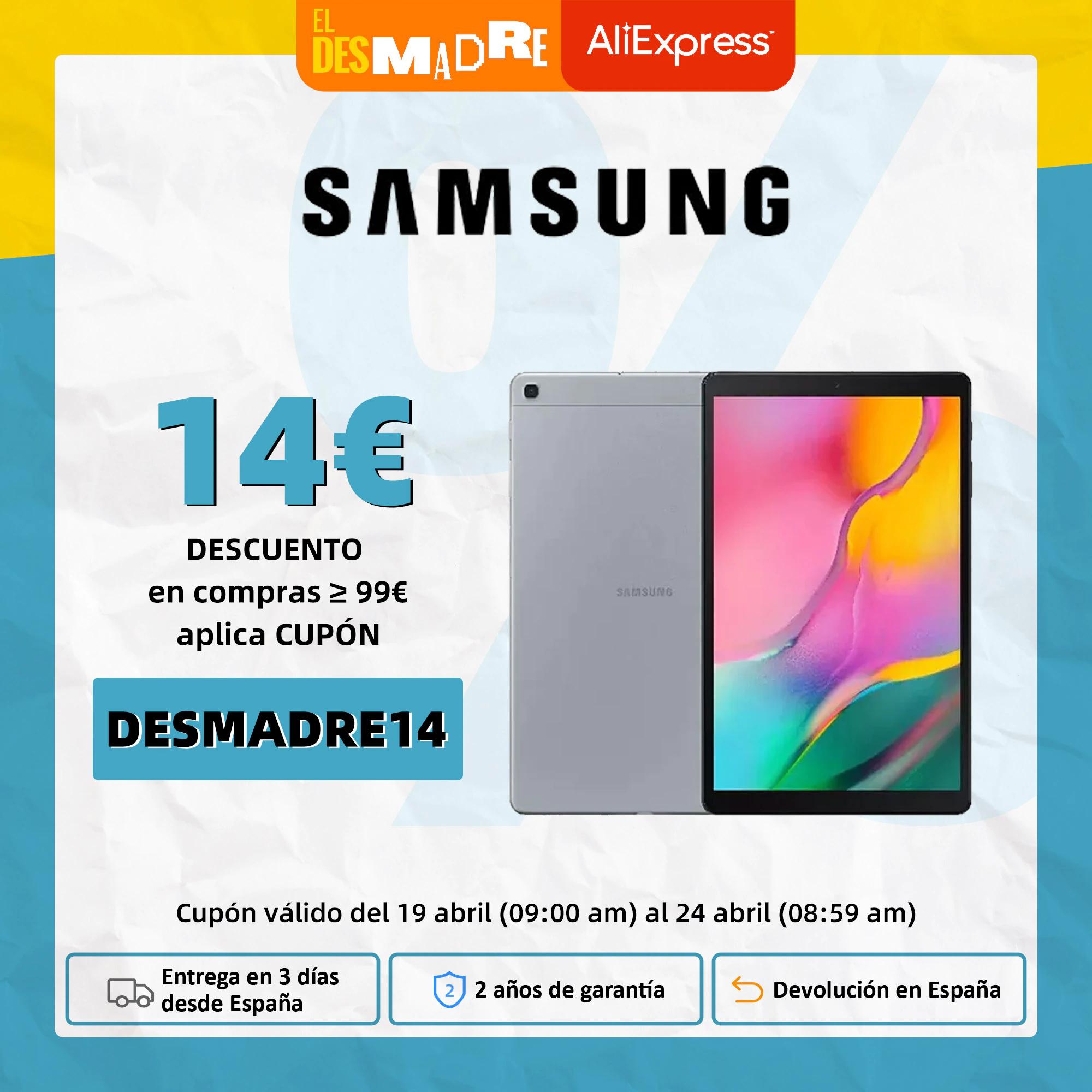 Samsung Galaxy Tab A 2gb/32gb (desde PLAZA)