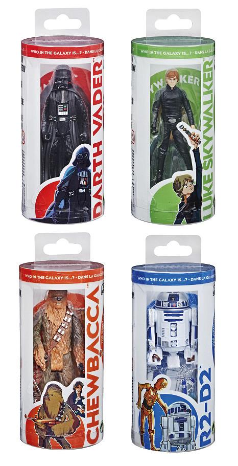 Figuras articuladas de 14 cm Galaxy of Adventures Star Wars Hasbro