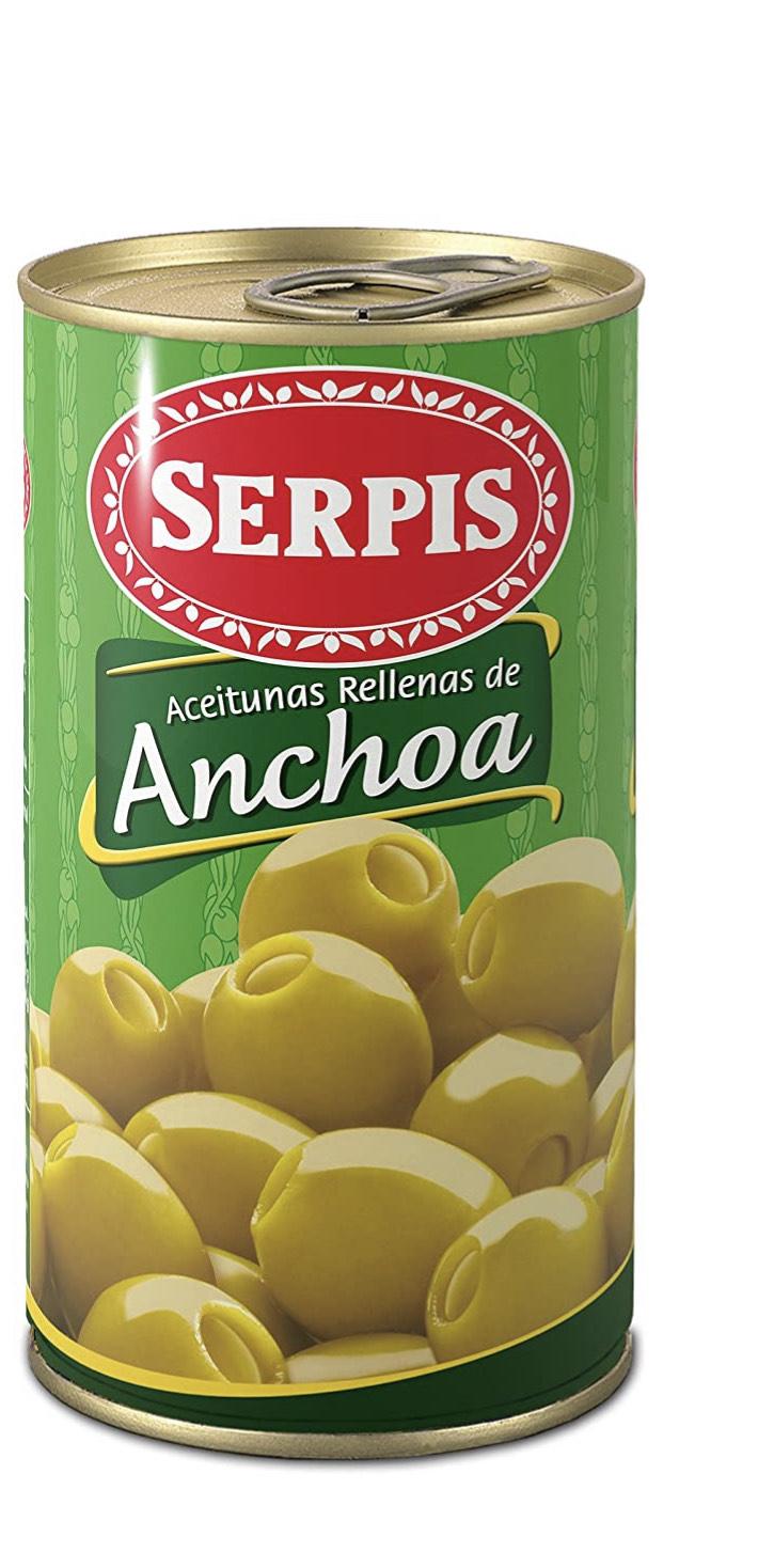 Aceituna Rellenas Serpis pack x5