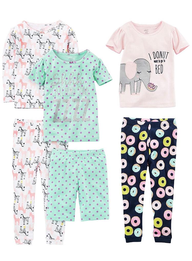 3 pijamas (Talla 6-9 meses)