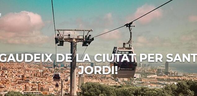 Entrada gratis, teleferico de Montjuïc para menores de 12 años