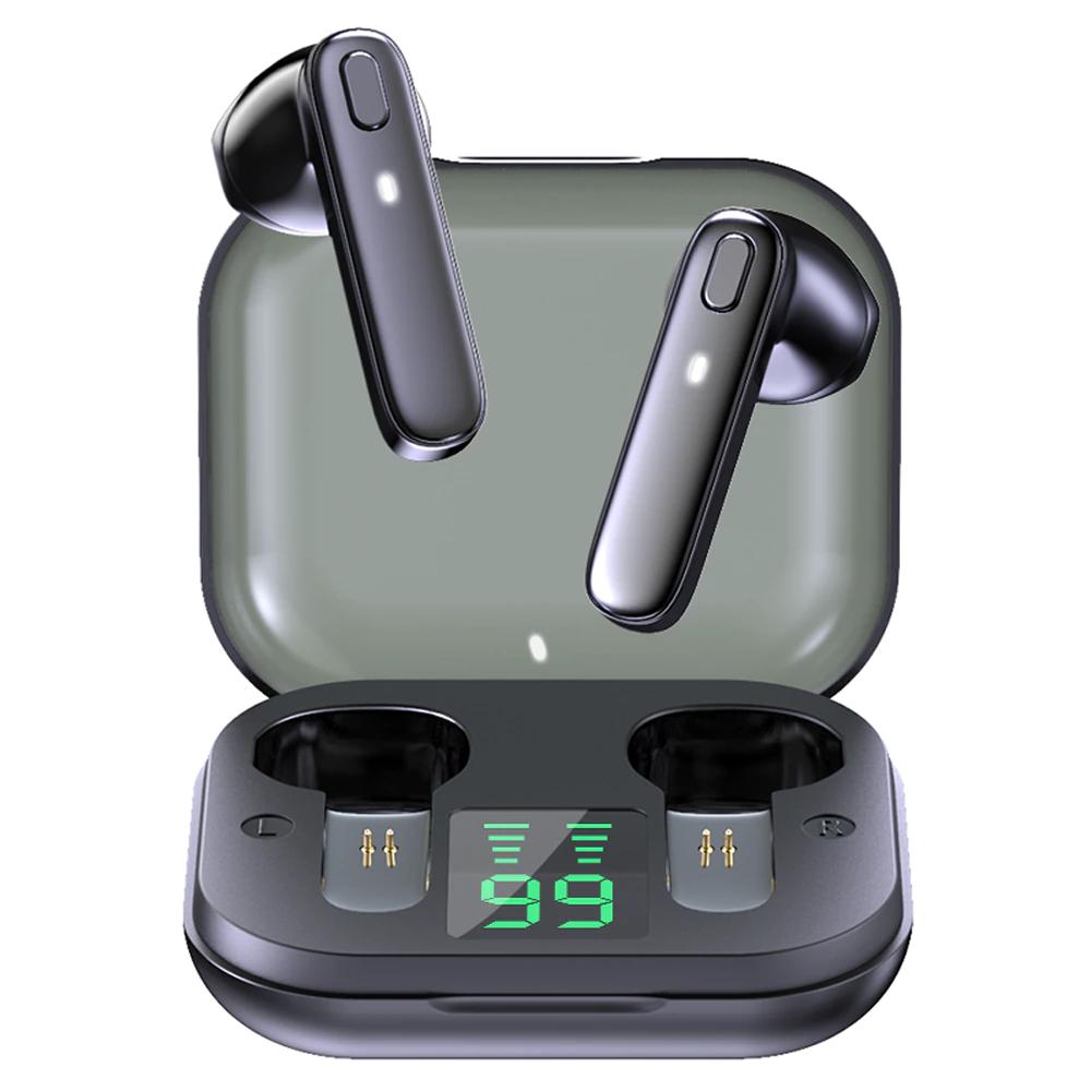 Auriculares Inalambricos bluetooth, Impermeable, estero con micrófono,