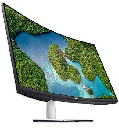 Dell S3221QS Monitor curvo 4K de 32 pulgadas, VA 60Hz
