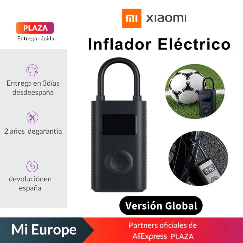 Inflador Xiaomi Mi Portable Air Pump - Desde España