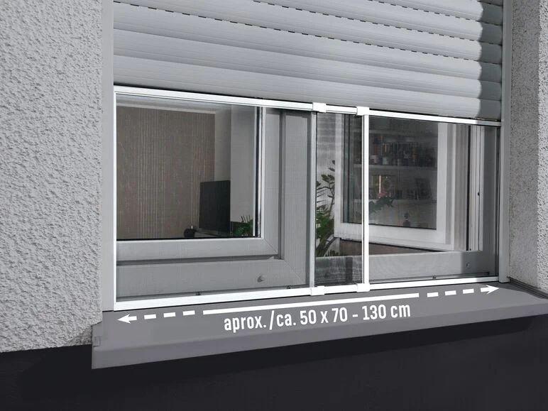 Mosquitera corredera de aluminio para ventanas