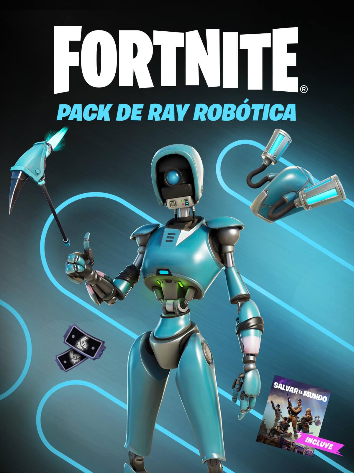 Fortnite - Pack de Ray robótica