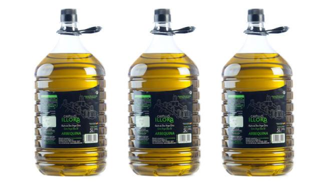 3 Garrafas Aceite de oliva Arbequina 5L por 63.75€ antes 75€.