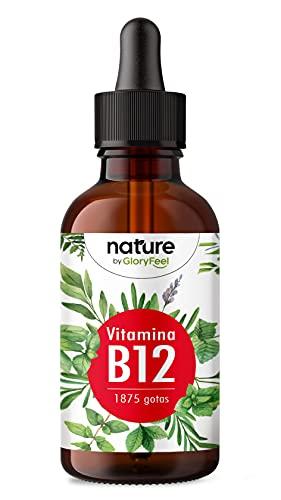 Vitamina B12 en gotas 500 Gloryfeel