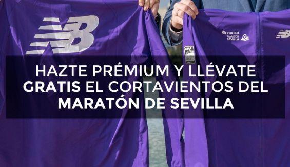 Gratis el cortavientos New Balance del Maratón de Sevilla ( solo pagas envio, 5€)