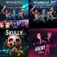 Trine: Ultimate Collection, Skully y otros juegos [Nintendo Switch, ES-RUS-SUD]