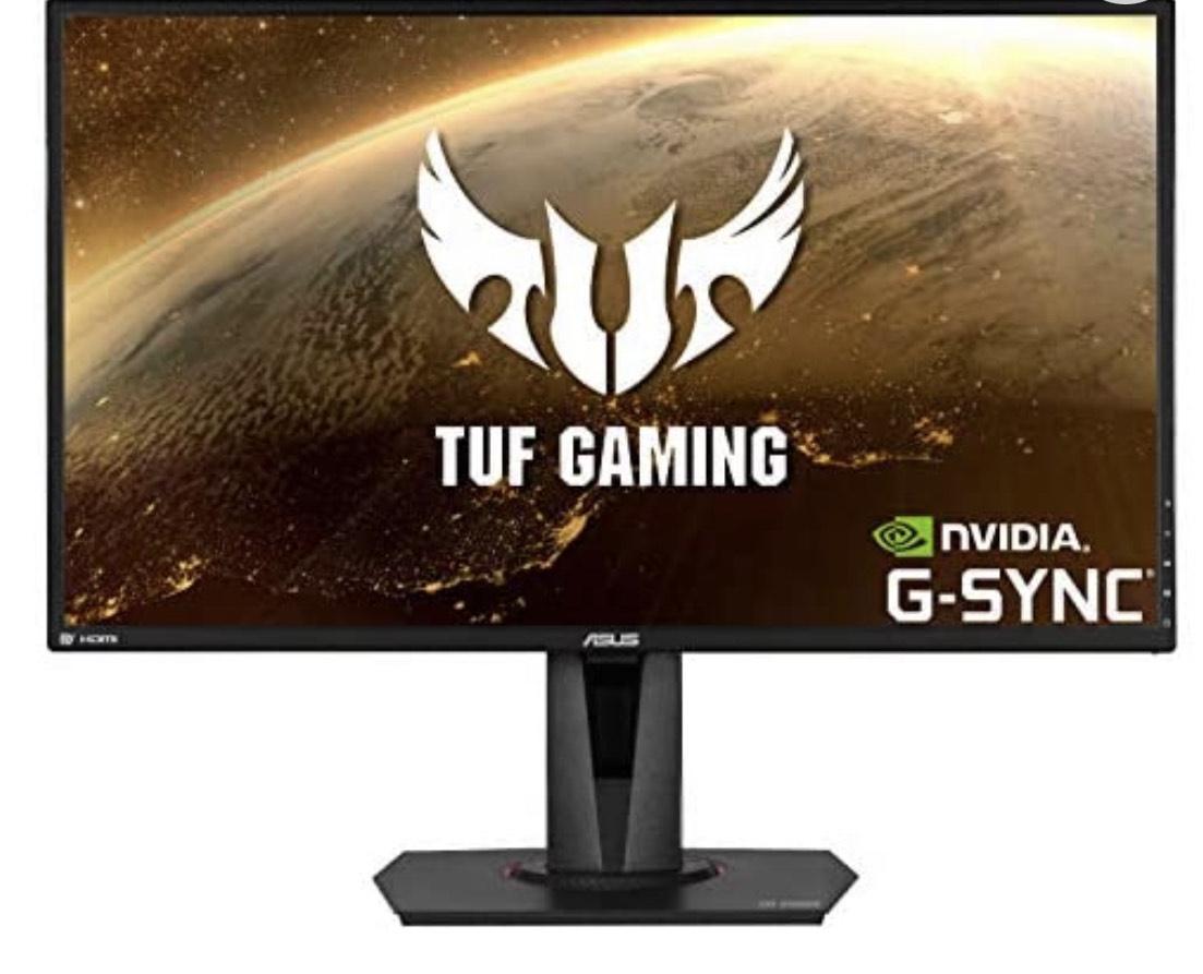 "ASUS VG27AQ TUF Gaming - Monitor de Gaming de 27"" (WQHD 2560x1440, 165 Hz)"