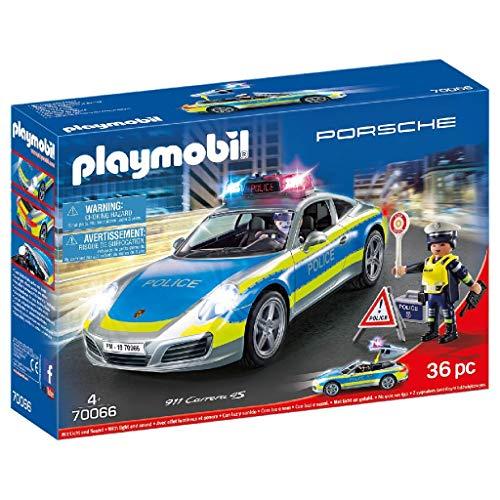 PLAYMOBIL- Porsche 911 Carrera 4S Playset de Figuras, Multicolor