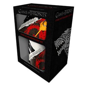 Caja regalo juego de tronos: Stark y Targaryen