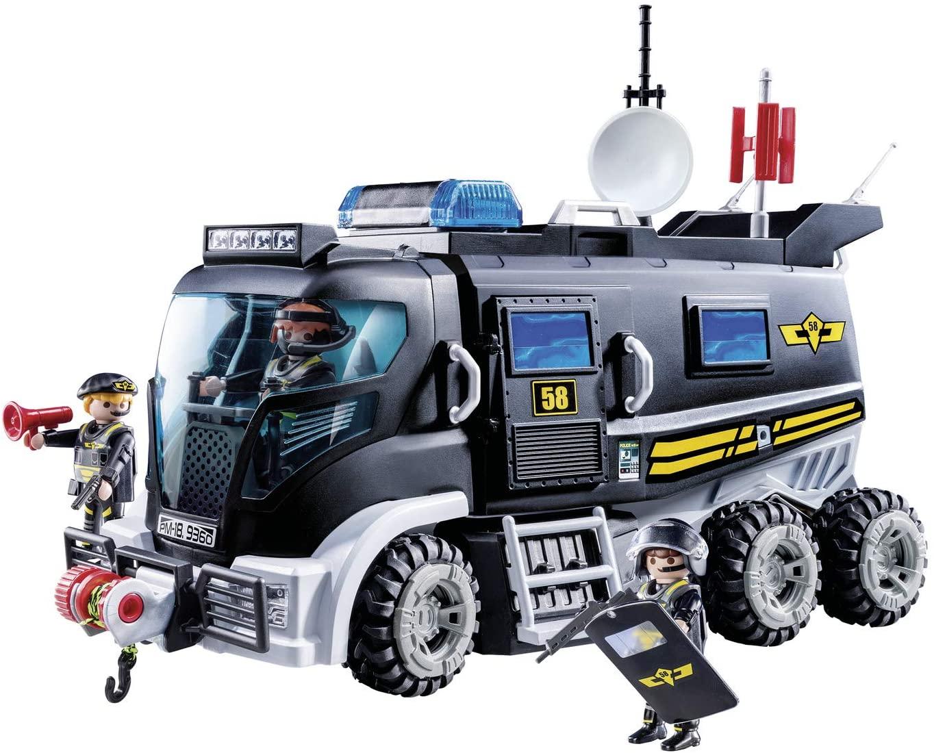 Vehículo Playmobil luces y sonido solo 34.2€