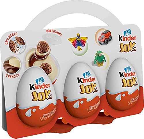 Kinder Huevo Joy - Paquete de 3