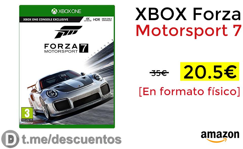 XBOX Forza Motorsport 7 solo 20.5€