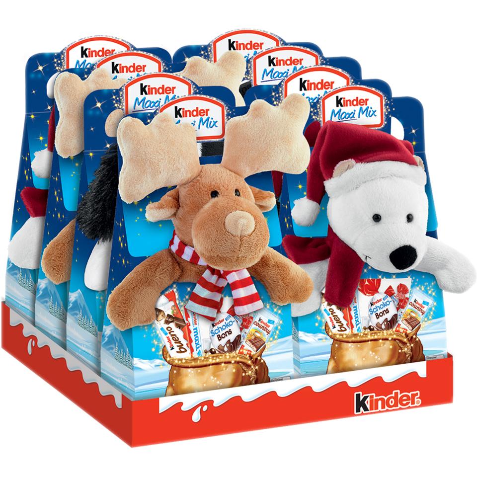 Kinder Maxi + Peluche u otras ofertas (Chocolates, Golosinas, AlCampo)