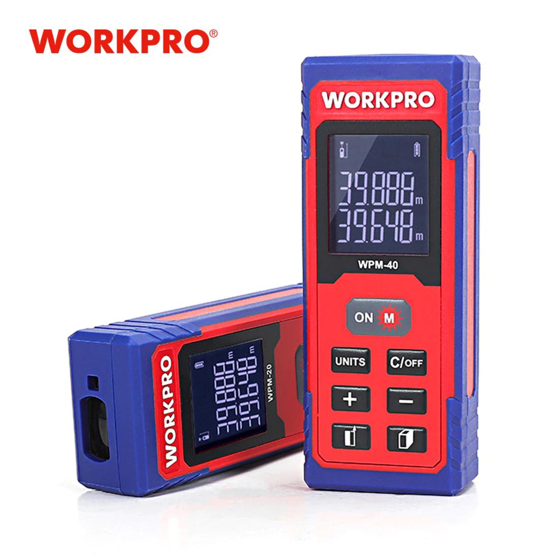 WORKPRO Medidor láser de distancia a 12.75 € desde España (Agotado el de 6.80€)