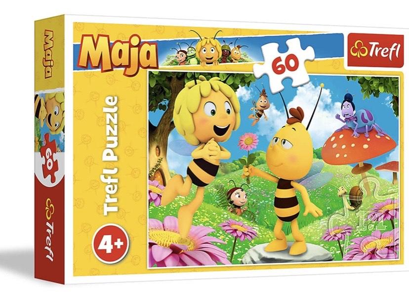 Puzzle una Flor para Maya, 60 Piezas,