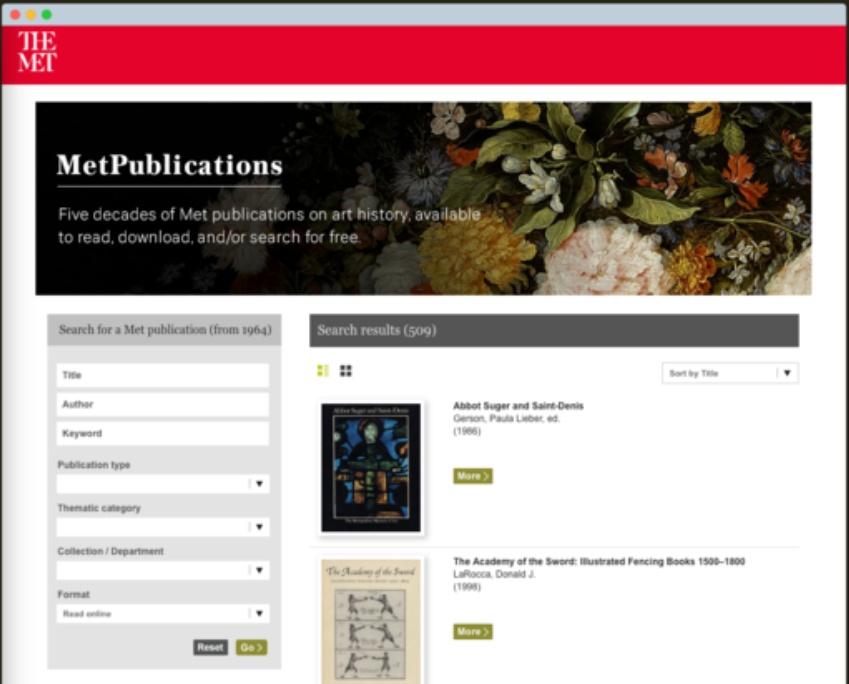 509 publicaciones MET para descargar en PDF