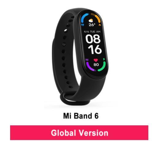 Xiaomi Mi Band 6 (Versión Global) + Envío Gratis Por 32€