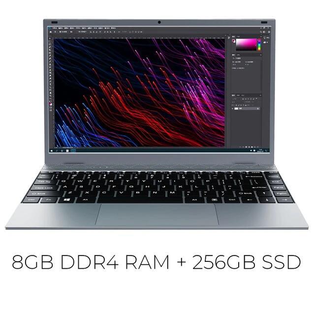 Kuu xbook J4115 8 GB RAM ddr4 SSD 128