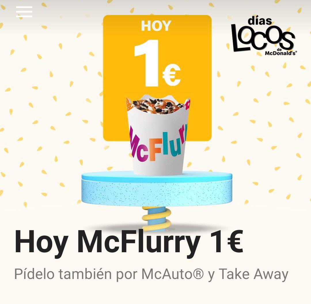 McFlurry a 1€