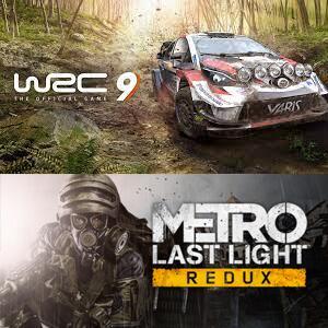 Juega GRATIS WRC 9 FIA World Rally Championship y Metro: Last Light Redux #XBOX
