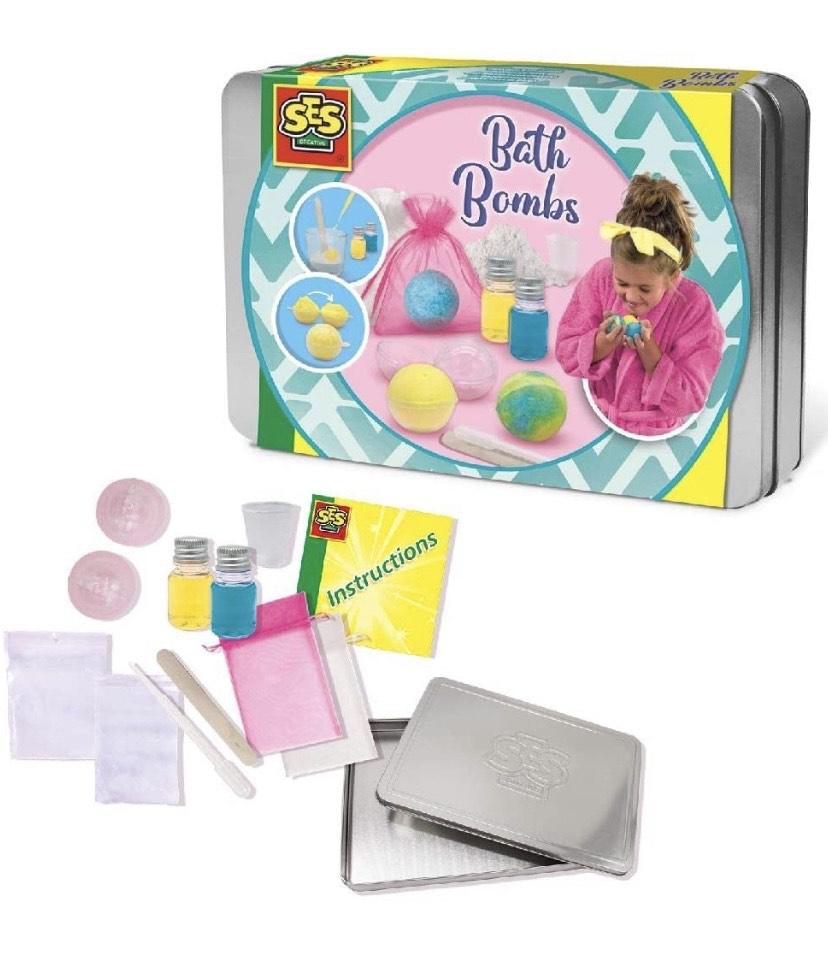 SES Creative- Bombas de baño
