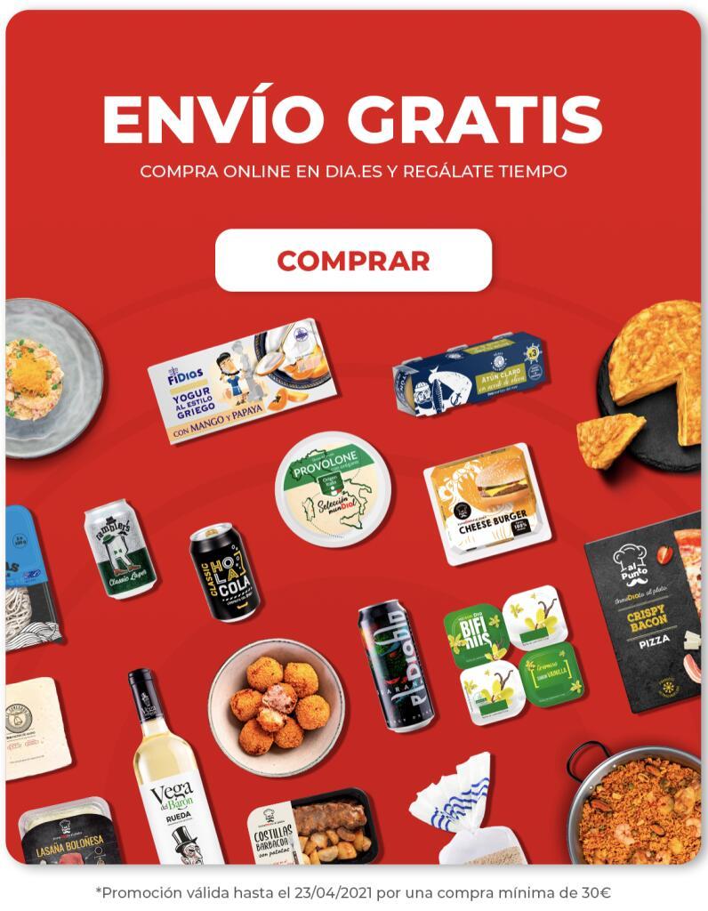 Envío GRATIS Supermercado DIA