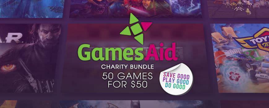 Bundle solidario de 50 buenos juegos para Steam por 50€