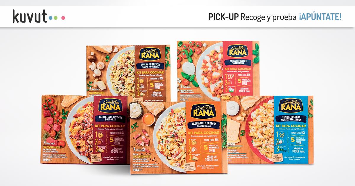 Gratis kit de cocina Rana solo en Madrid y Barcelona
