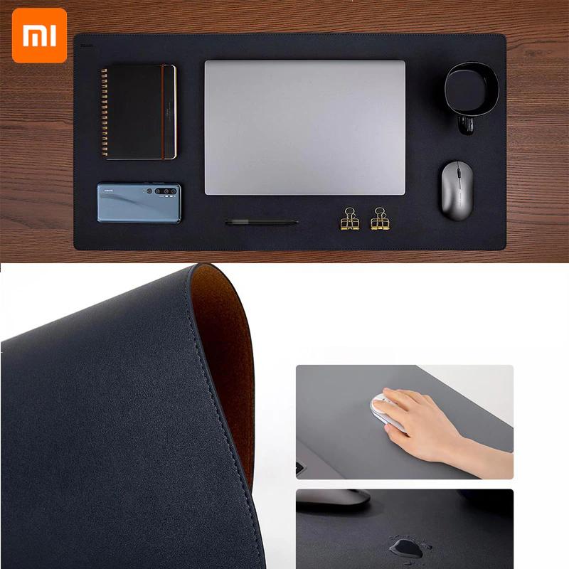 Xiaomi-alfombrilla extragrande para ratón de piel sintética