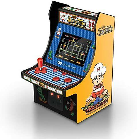 My Arcade Burger Time Micro Arcade Machine