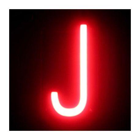 Letra LED Neón, tienen casi todas las letras y números.