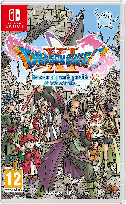 Dragon Quest XI S a 37€ y witcher 3 a 40€ + 20% descuento en segunda unidad