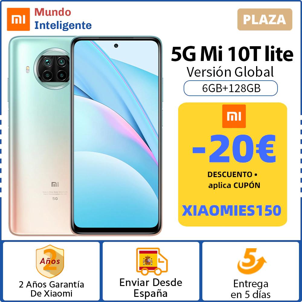 Xiaomi Mi 10T Lite 6GB+128GB - desde España