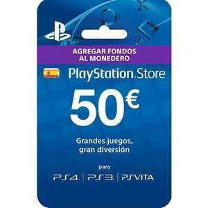 Tarjeta 50€ para PSN por 38,4€
