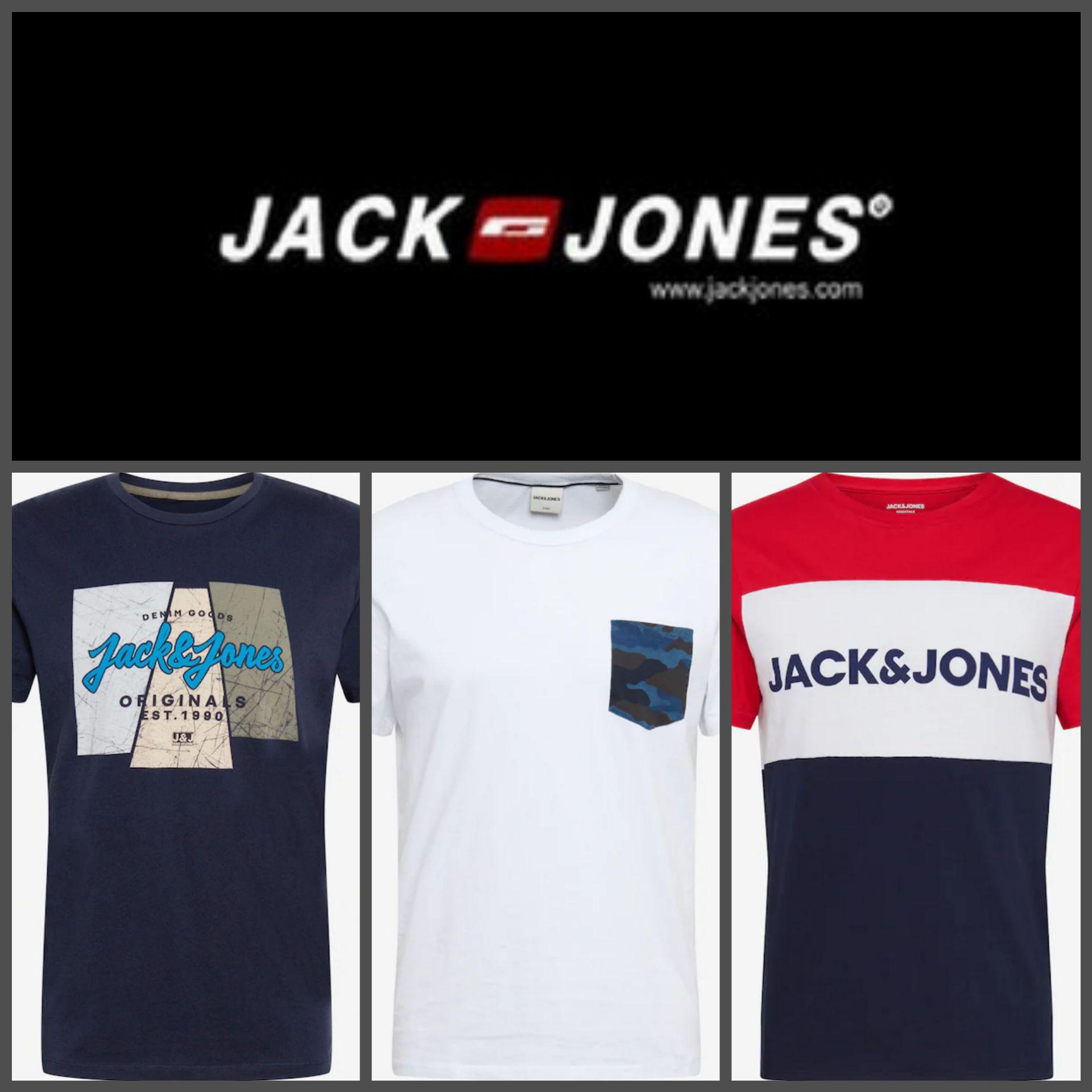 Recopilación Camisetas Jack&Jones por menos de 10€