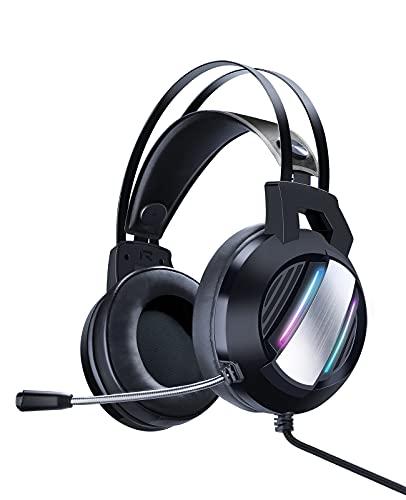 Auriculares Gaming Estéreo Juego Jack 3.5mm con Micrófono