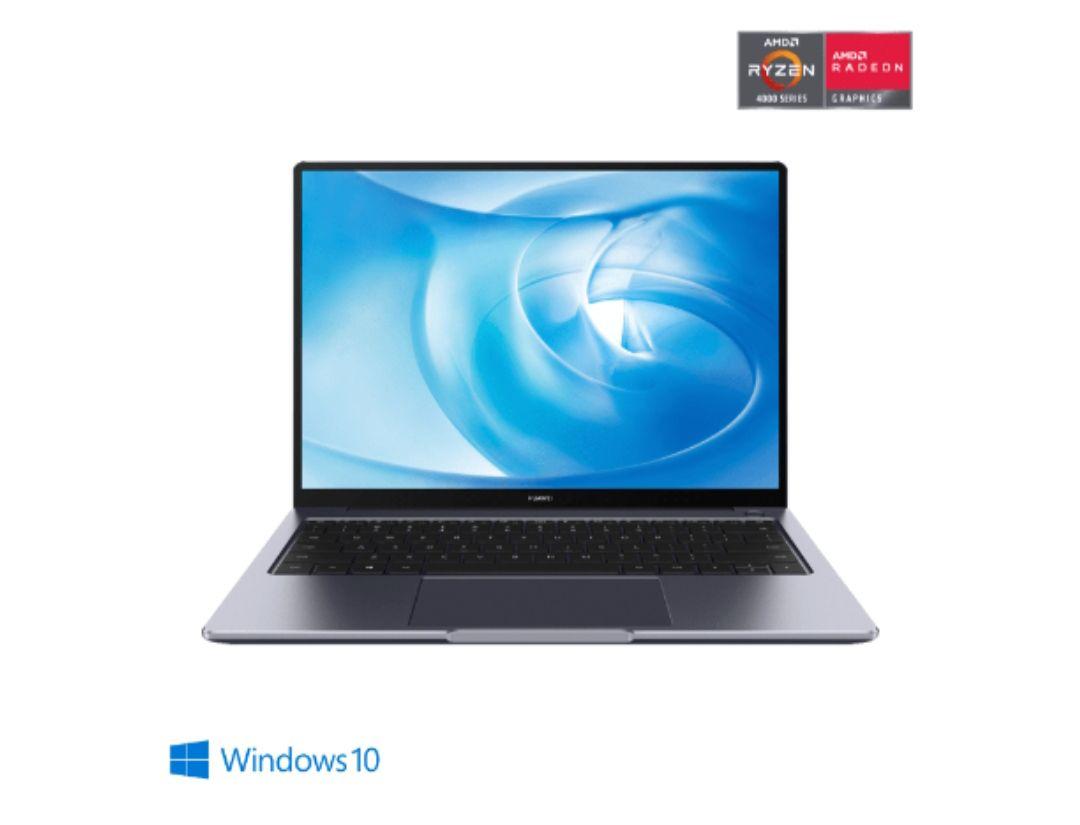 Huawei Matebook 14 – Portátil Ultrafino de 14″ de gama alta con pantalla 2K, AMD Ryzen 5 4600H, 16 GB RAM SSD NVMe de 512 GB. Windows 10