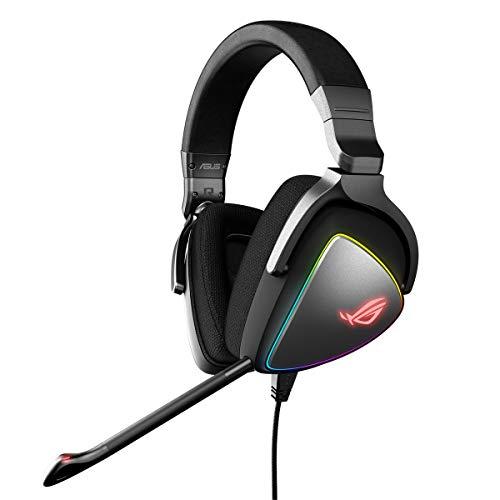 Asus ROG Delta - Auriculares gaming RGB con Hi-Res ESS Quad-DAC