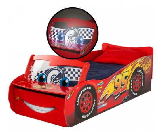 Cama Infantil de Madera DISNEY Pixar Cars 76,7x169,5x54,4 cm
