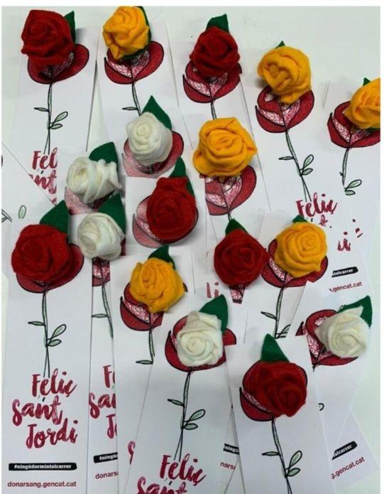 Chollo de rosas por Sant Jordi