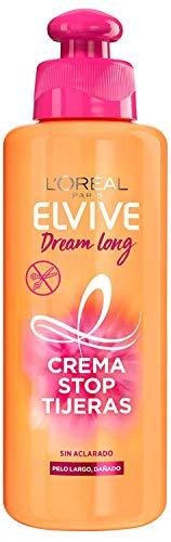 L'Oreal Paris Elvive Dream Long Crema Stop Tijeras, para cabellos dañados - 200 ml