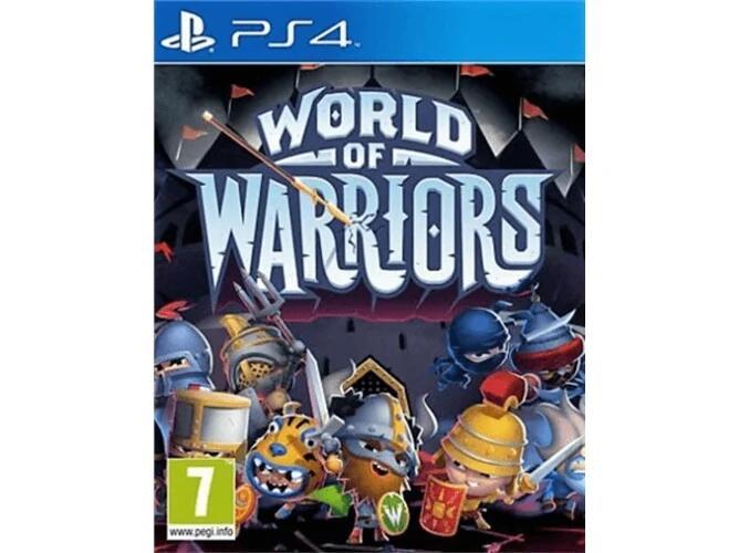 Videojuego, World of Warriors, para PS4