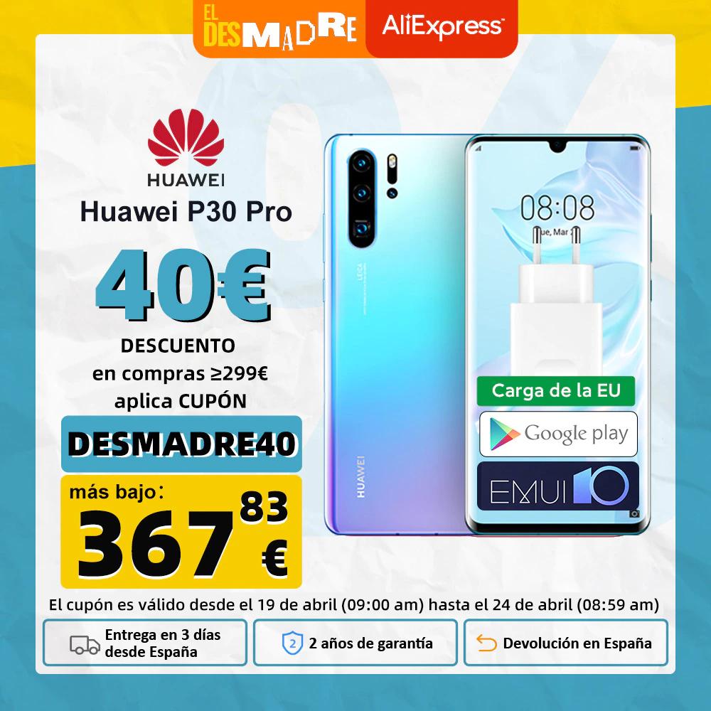 Huawei P30 Pro 6/128GB desde España